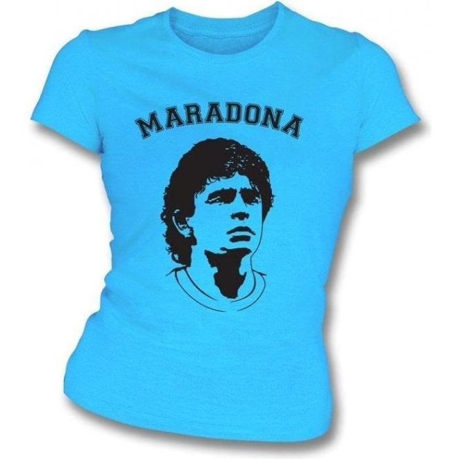Maradona Girl's Slim-Fit T-shirt