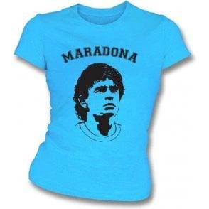 Maradona Girl's Slim-Fit T-shirt