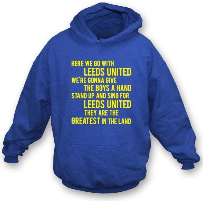 Marching On Together Hooded Sweatshirt (Leeds United)