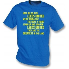 Marching On Together T-Shirt (Leeds United)