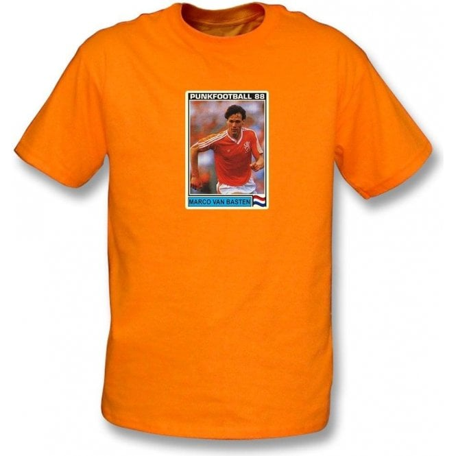 Marco Van Basten 1988 (Holland) Orange T-Shirt
