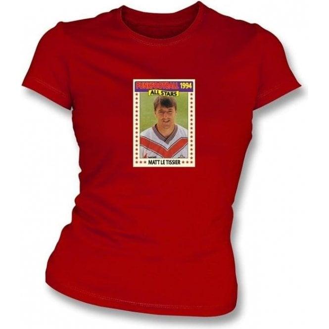 Matt Le Tissier 1994 (Southampton) Red Women's Slimfit T-Shirt