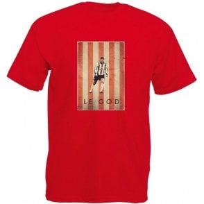 Matt Le Tissier: Le God Vintage Poster T-Shirt
