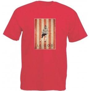 Matt Le Tissier: Le God Vintage Poster Vintage Wash T-Shirt