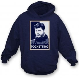 Mauricio Pochettino - Hope Poster (Tottenham Hotspur) Hooded Sweatshirt
