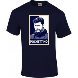 Mauricio Pochettino - Hope Poster (Tottenham Hotspur) T-Shirt