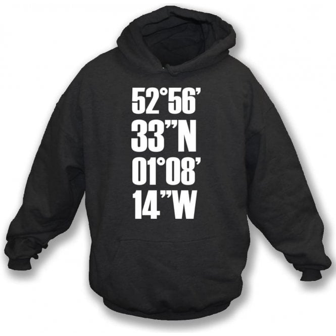 Meadow Lane Coordinates (Notts County) Hooded Sweatshirt