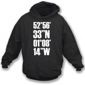 Meadow Lane Coordinates (Notts County) Hooded Sweatshirt