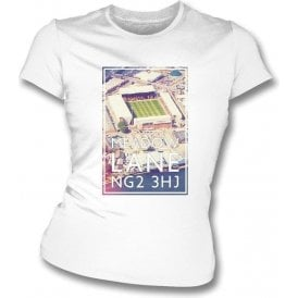 Meadow Lane NG2 3HJ (Notts County) Women's Slim Fit T-shirt
