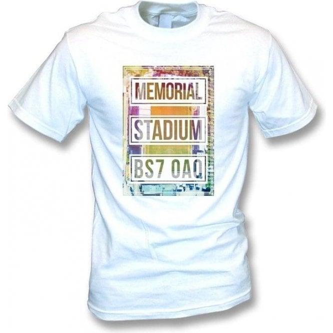 Memorial Stadium BS7 OAQ (Bristol Rovers) T-shirt