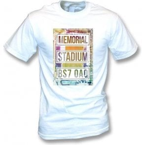 Memorial Stadium BS7 OAQ (Bristol Rovers) T-shirt