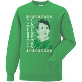 Merry Cloughmas Christmas Jumper