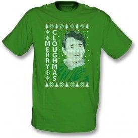 Merry Cloughmas Kids T-Shirt