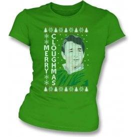Merry Cloughmas Womens Slim Fit T-Shirt