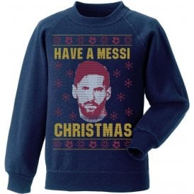 Messi Christmas (Barcelona) Christmas Jumper