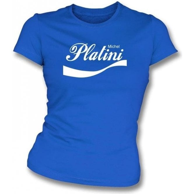 Michel Platini (France) Enjoy-Style Women's Slim Fit T-shirt