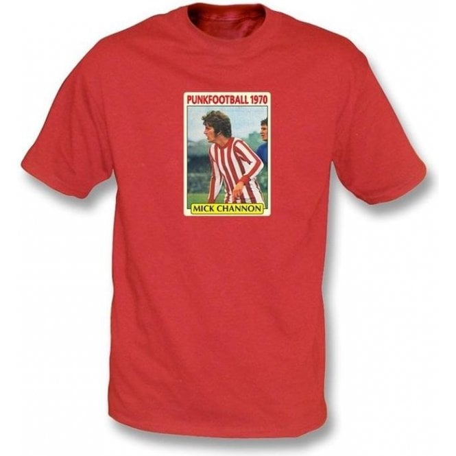 Mick Channon 1970 (Southampton) Red T-Shirt