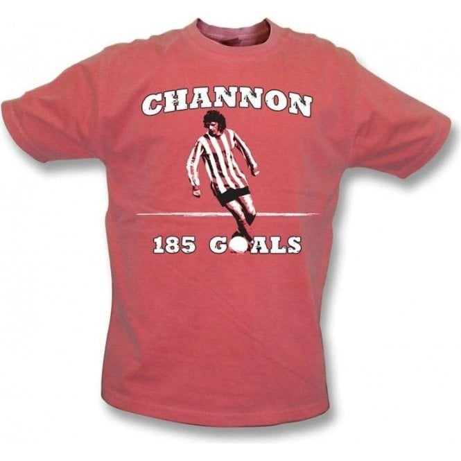 Mick Channon - Southampton Legend vintage wash t-shirt