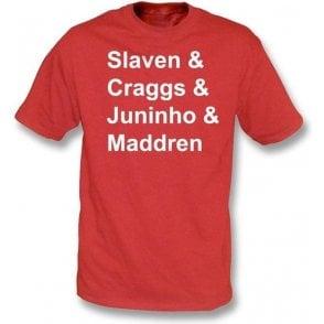 Middlesbrough Legends t-shirt