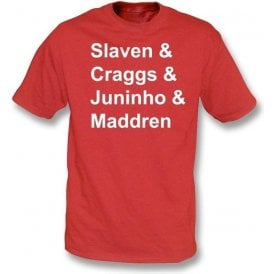 Middlesbrough Legends t-shirt