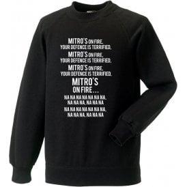 Mitro's On Fire (Newcastle United) Sweatshirt