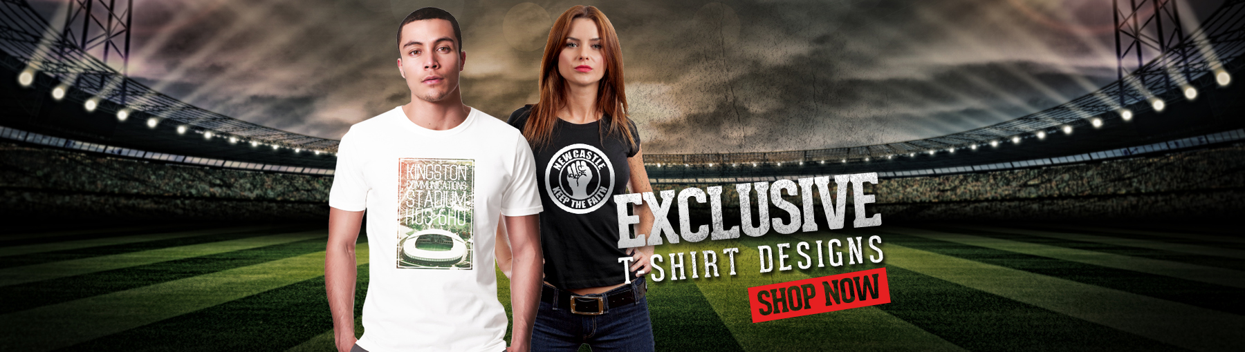 PunkFootball; Football T-Shirts for men, ladies & kids