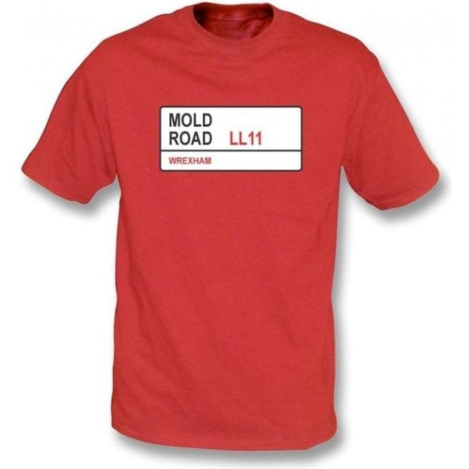 Mold Road LL11 T-Shirt (Wrexham)