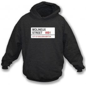 Molineux Street WB1 Hooded Sweatshirt (Wolves)