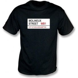 Molineux Street WB1 T-Shirt (Wolves)