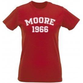 Moore 1966 (England) Womens Slim Fit T-Shirt