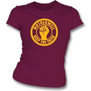 Motherwell Keep the Faith Girl's Slim-Fit
