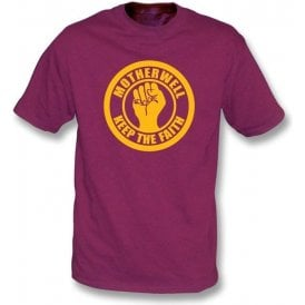 Motherwell Keep the Faith T-shirt