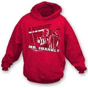 Mr Shankly hooded sweatshirt