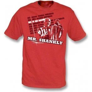 Mr Shankly t-shirt