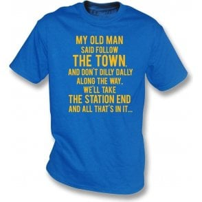 My Old Man (Shrewsbury Town) Kids T-Shirt