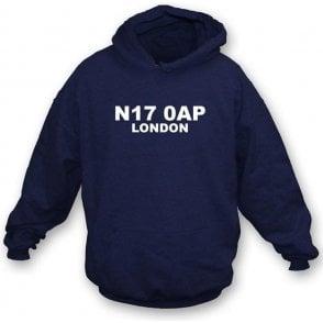 N17 0AP London Hooded Sweatshirt (Spurs)