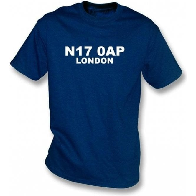N17 0AP London T-Shirt (Spurs)