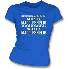 Na Na Hey Hey Macclesfield Womens Slim Fit T-Shirt
