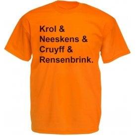 Netherlands World Cup 1974 Kids T-Shirt