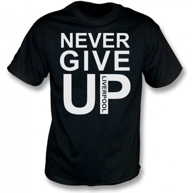 Never Give Up (As Worn By Mo Salah) T-Shirt