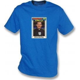 Neville Southall 1994 (Everton) Royal Blue T-Shirt