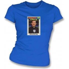 Neville Southall 1994 (Everton) Royal Blue Women's Slimfit T-Shirt
