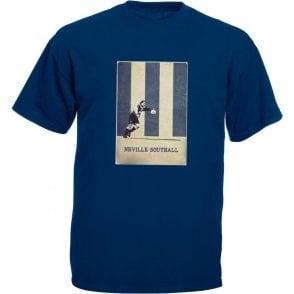 Neville Southall (Everton) Vintage Poster T-Shirt