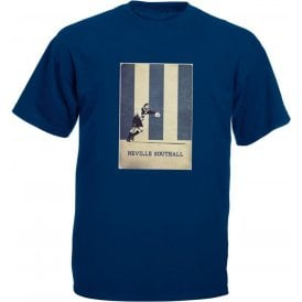 Neville Southall (Everton) Vintage Poster T-Shirt