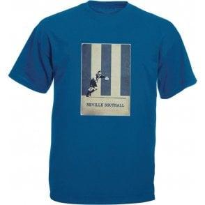 Neville Southall (Everton) Vintage Poster Vintage Wash T-Shirt