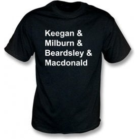 Newcastle Legends t-shirt
