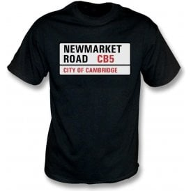 Newmarket Road CB5 T-Shirt (Cambridge United)