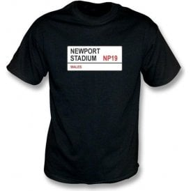 Newport Stadium NP19 T-Shirt (Newport County)