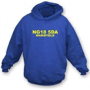 NG18 5DA Mansfield Hooded Sweatshirt (Mansfield Town)
