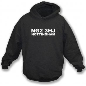 NG2 3HJ Nottingham Hooded Sweatshirt (Notts County)